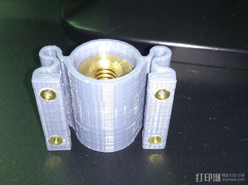 螺纹适配器 3D模型  图3