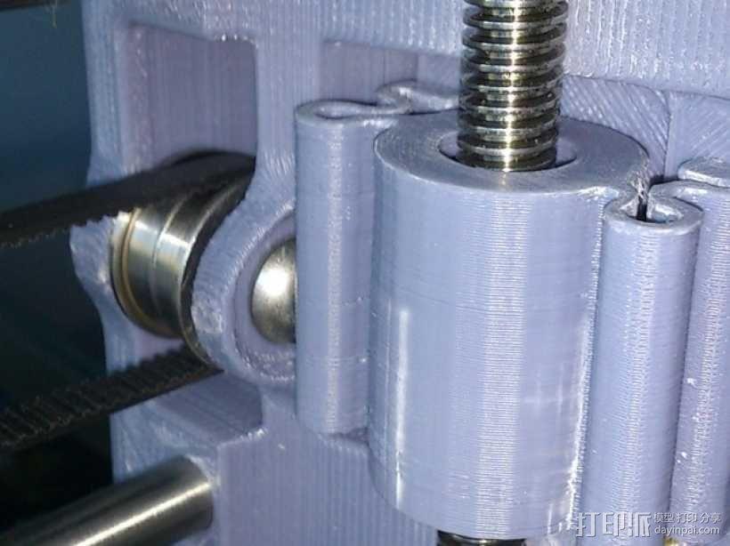 螺纹适配器 3D模型  图4