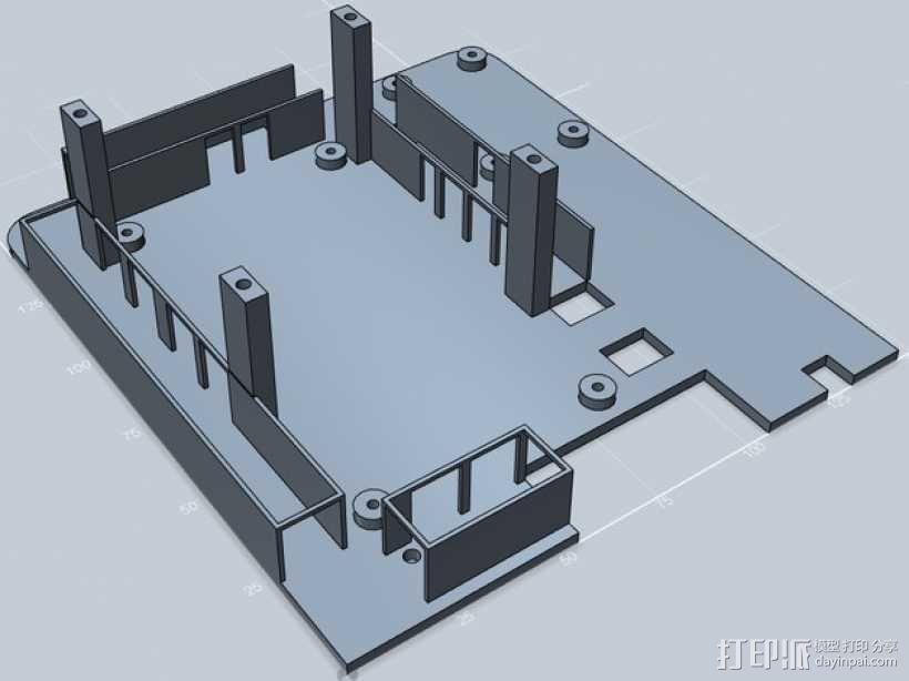 电线管道 3D模型  图1