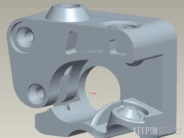 挤出器驱动 3D模型  图5