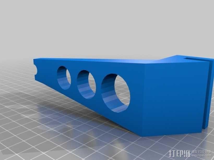 线轴适配器 3D模型  图1