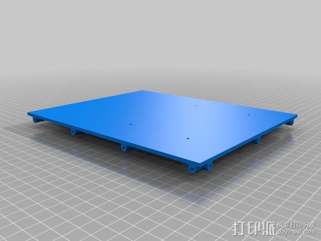 收纳盒 3D模型  图3