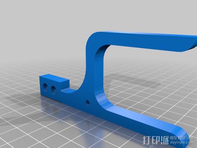 线丝轴 3D模型  图4