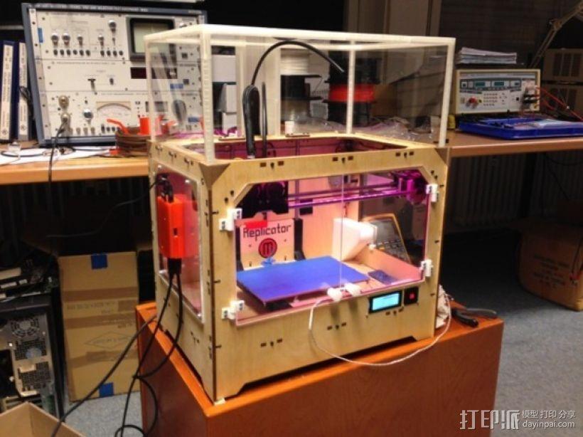 打印机外壳 3D模型  图1