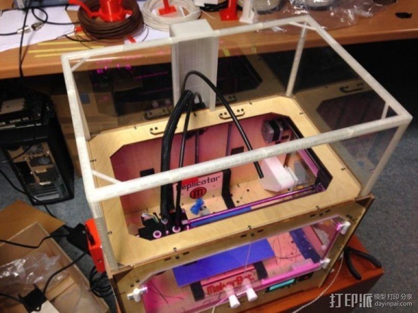 打印机外壳 3D模型  图4