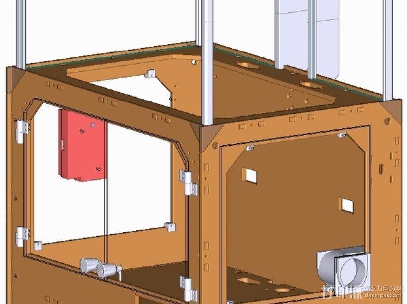 打印机外壳 3D模型  图15