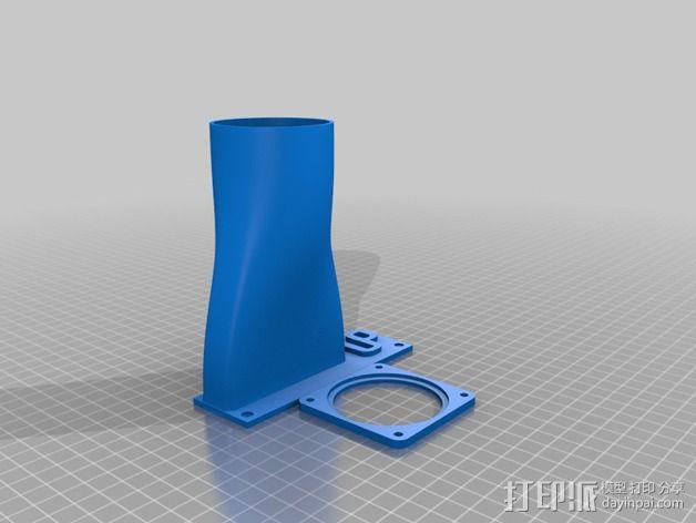 冷却板 3D模型  图3