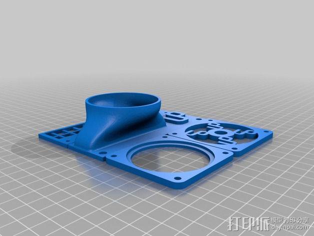 冷却板 3D模型  图5