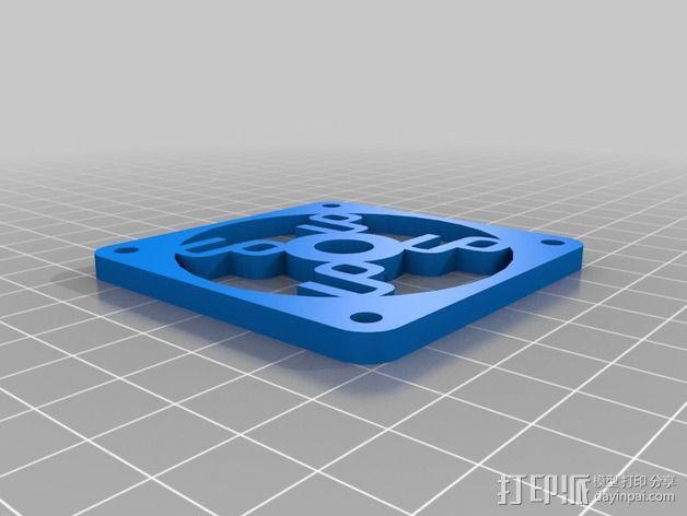 冷却板 3D模型  图7