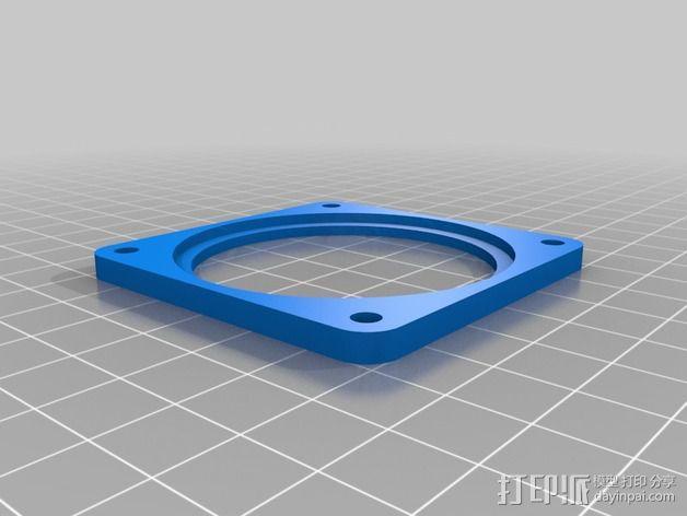 冷却板 3D模型  图8
