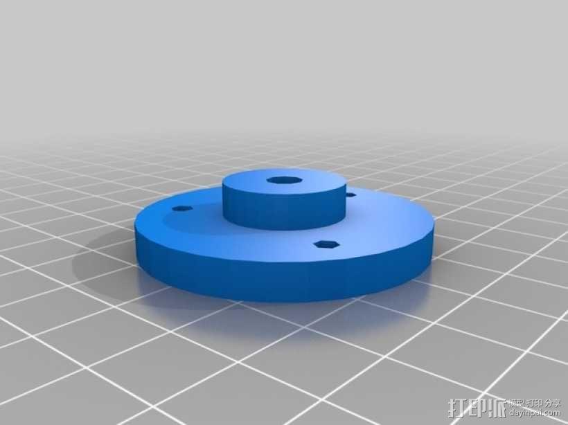旋转平台 3D模型  图3