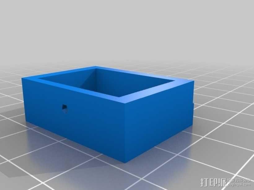 旋转平台 3D模型  图4