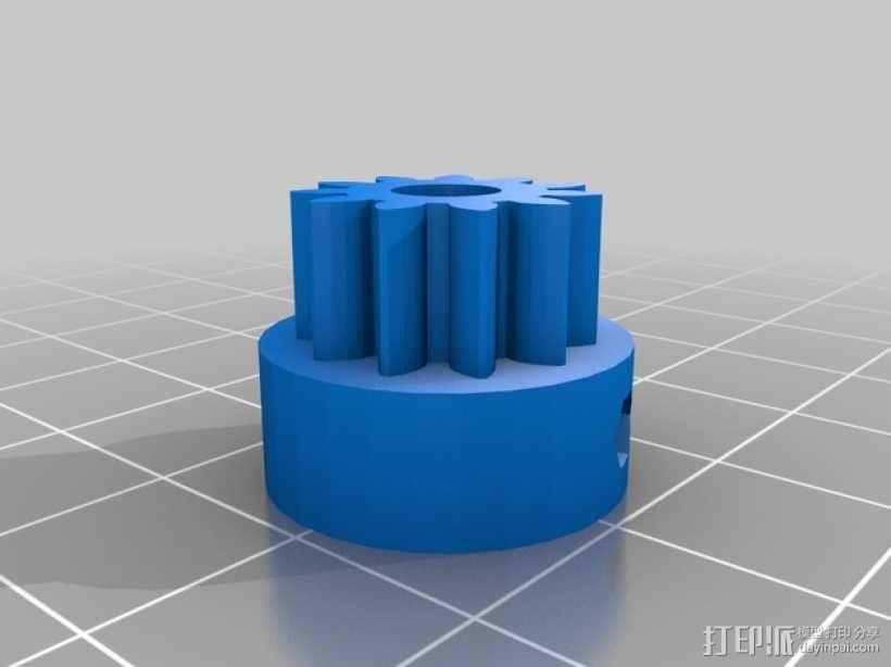 旋转平台 3D模型  图6