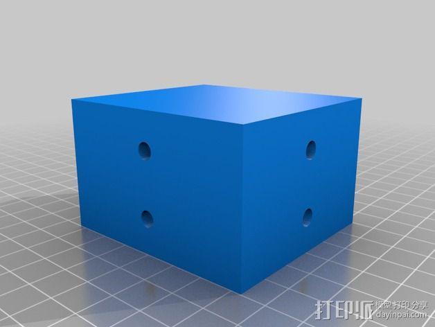 双挤出器 3D模型  图3