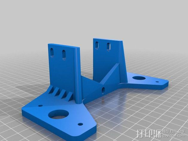 双挤出器 3D模型  图2