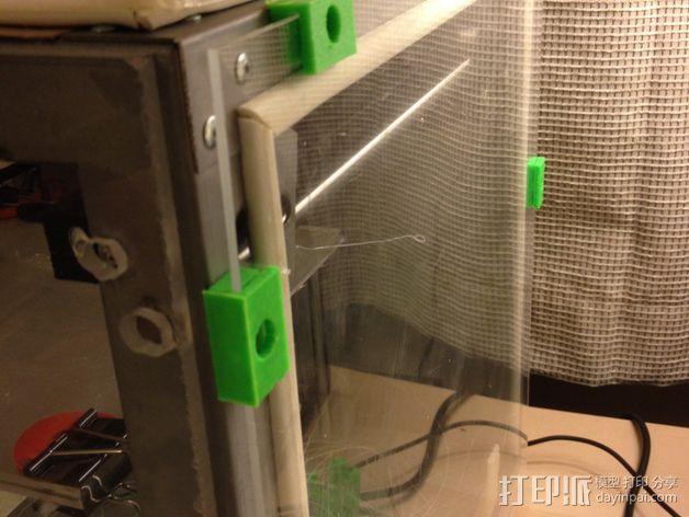 密封夹 3D模型  图1
