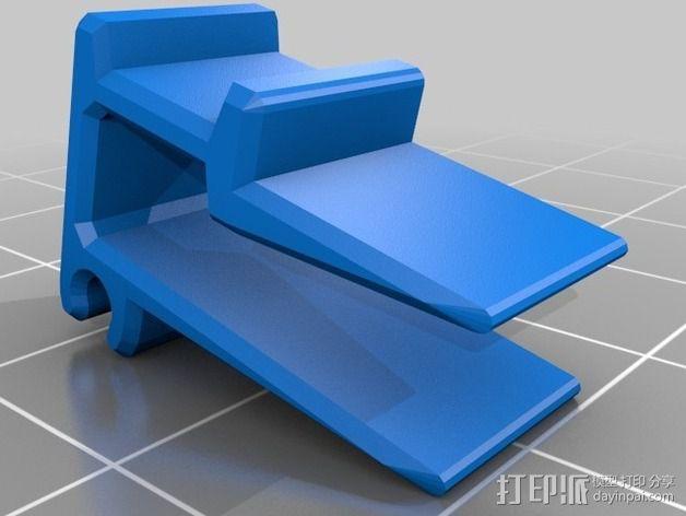 线丝夹 3D模型  图1