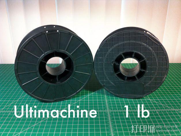 线丝夹 3D模型  图3