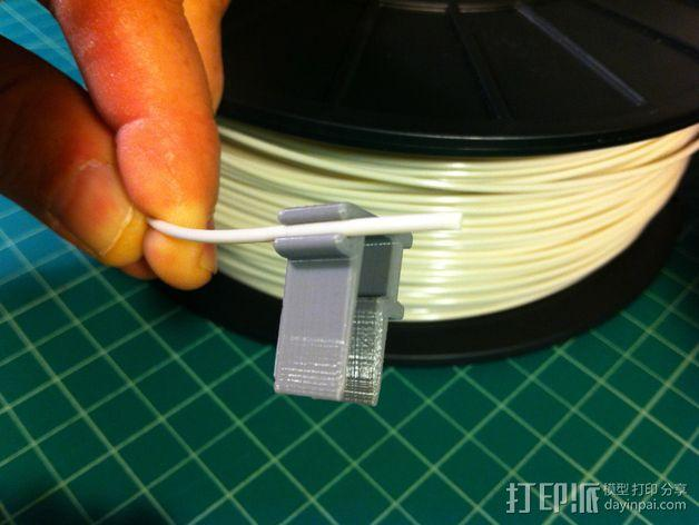 线丝夹 3D模型  图4