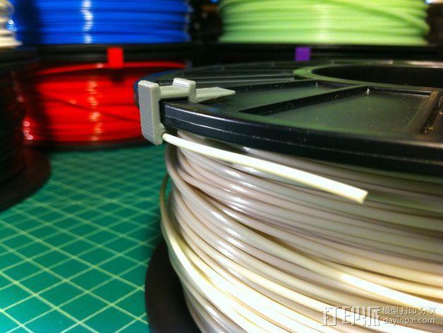 线丝夹 3D模型  图6