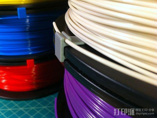 线丝夹 3D模型  图7
