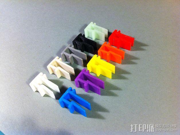 线丝夹 3D模型  图9
