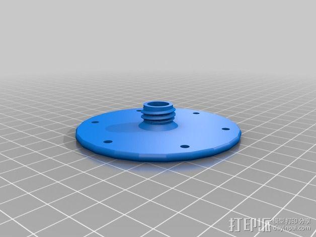 滤板 3D模型  图3