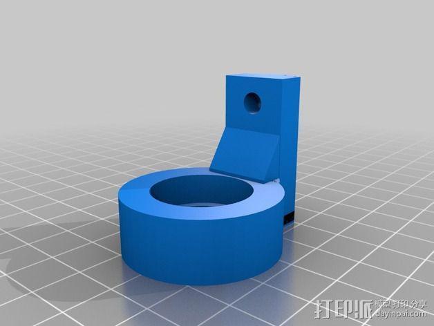 K8200适配器 3D模型  图2