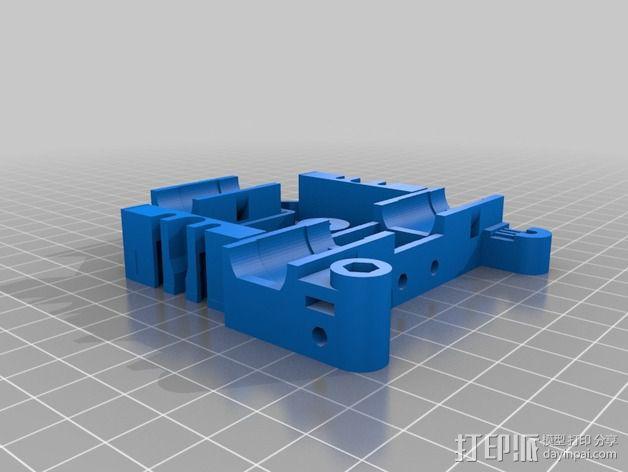 双挤出器 3D模型  图7
