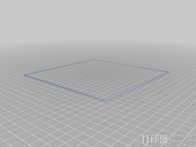 水平测试版面 3D模型  图2
