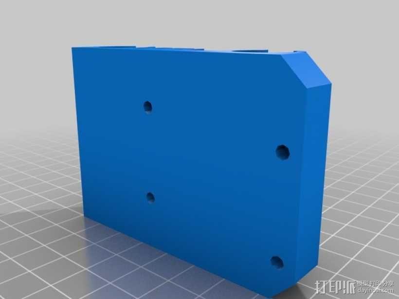 X轴垂直挤出器 3D模型  图8