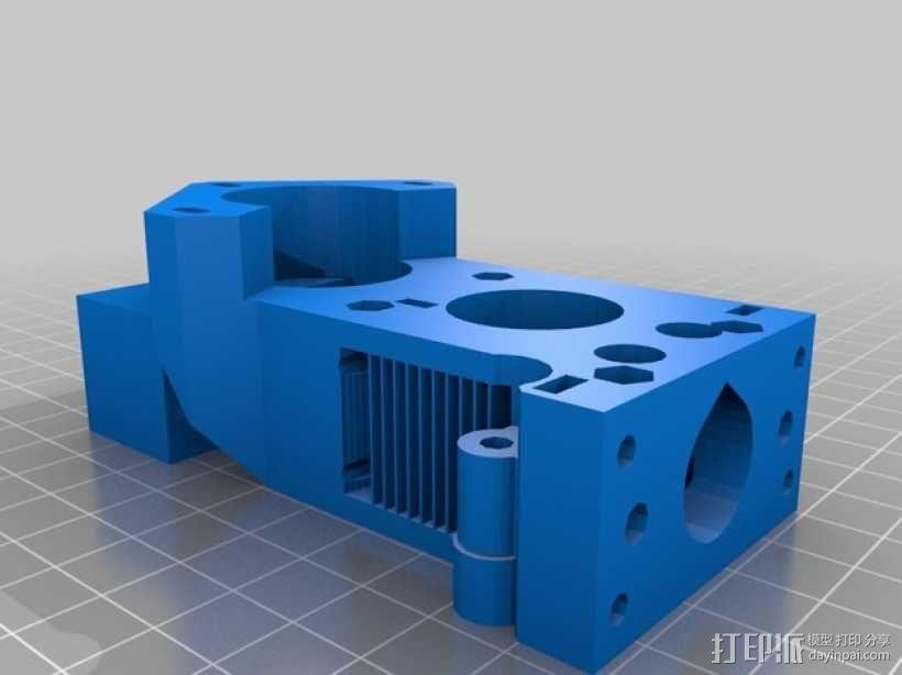 X轴垂直挤出器 3D模型  图10