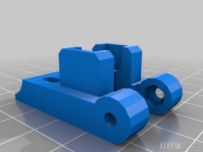 X轴垂直挤出器 3D模型  图12