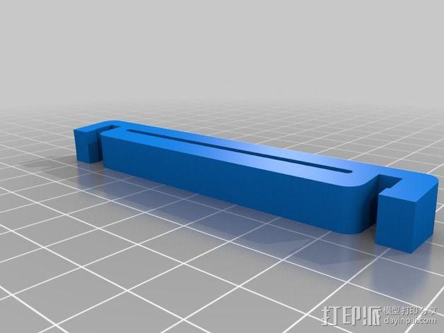 灯丝线轴 3D模型  图3