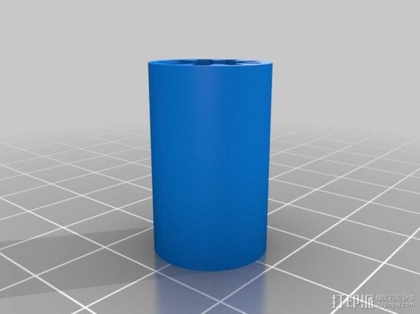 可打印参数线轴 3D模型  图1