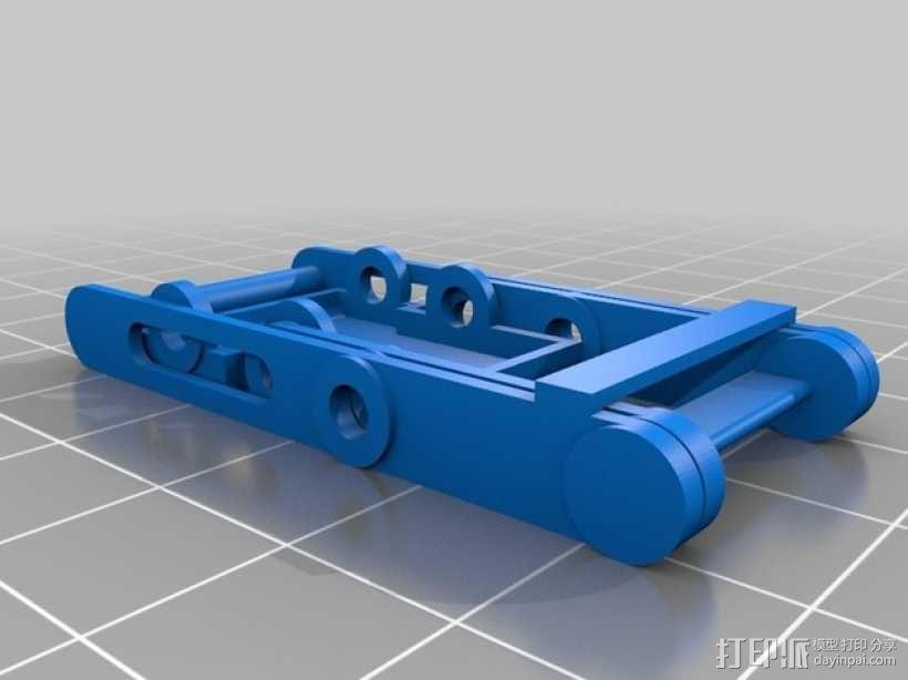迷你椅子 3D模型  图1