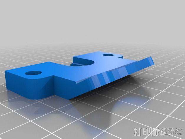 风扇挂载 3D模型  图5