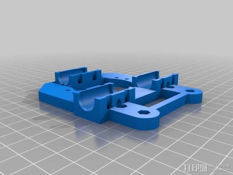 Radus Prusa i2适配器 3D模型  图3