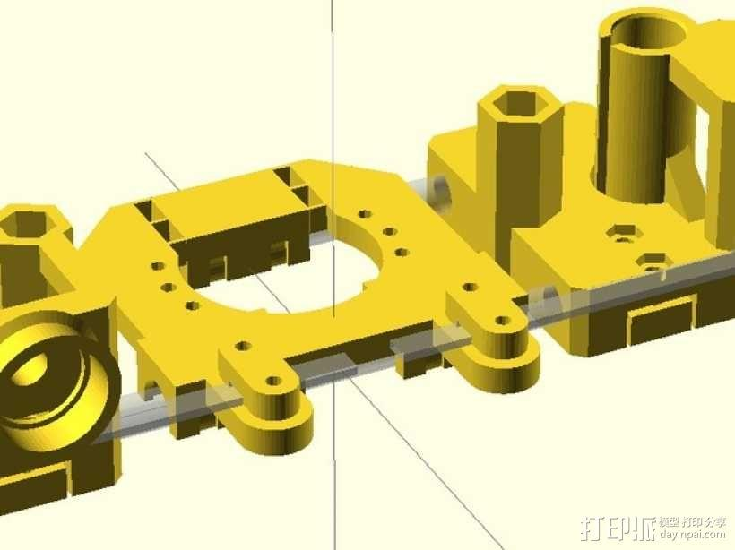 Radus Prusa i2适配器 3D模型  图5