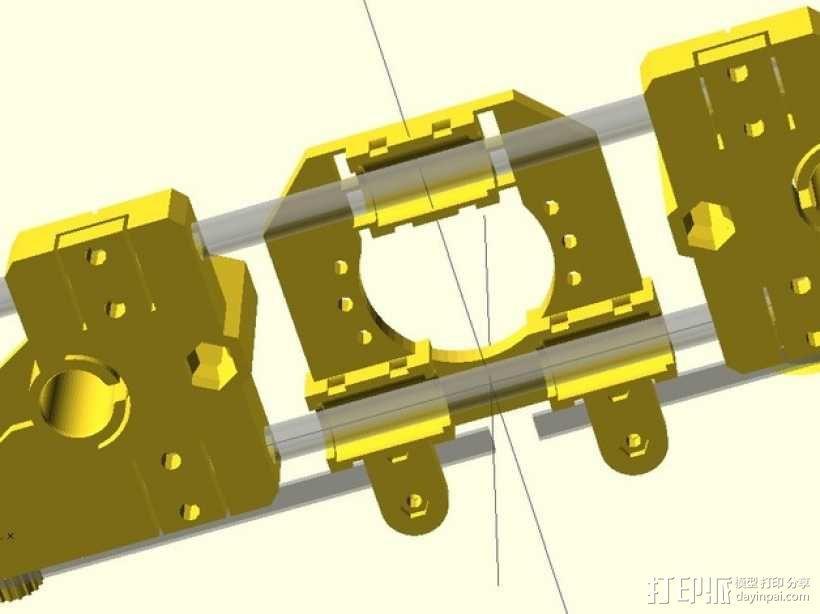 Radus Prusa i2适配器 3D模型  图6