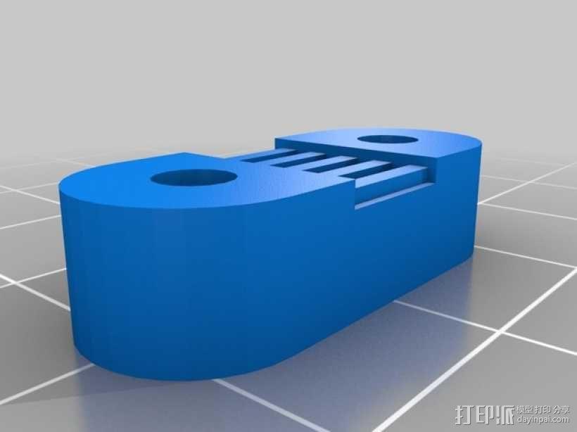 Radus Prusa i2适配器 3D模型  图8