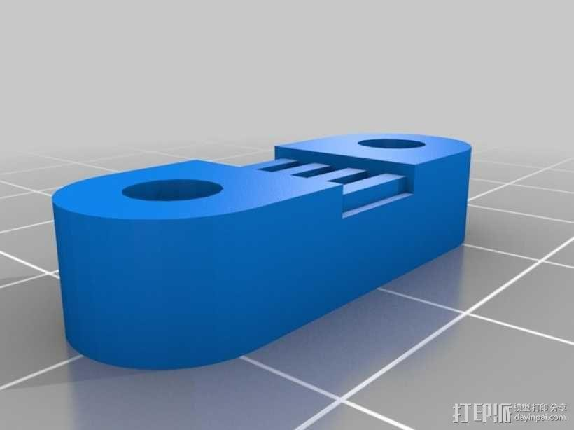 Radus Prusa i2适配器 3D模型  图9