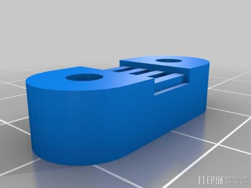 Radus Prusa i2适配器 3D模型  图12