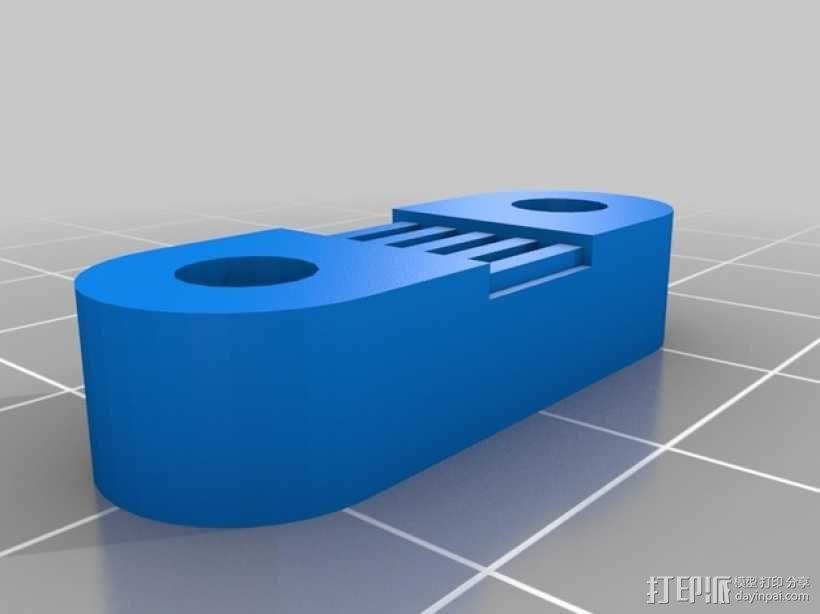 Radus Prusa i2适配器 3D模型  图11