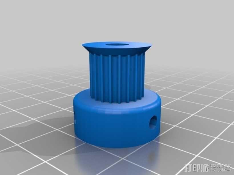 Radus Prusa i2适配器 3D模型  图15