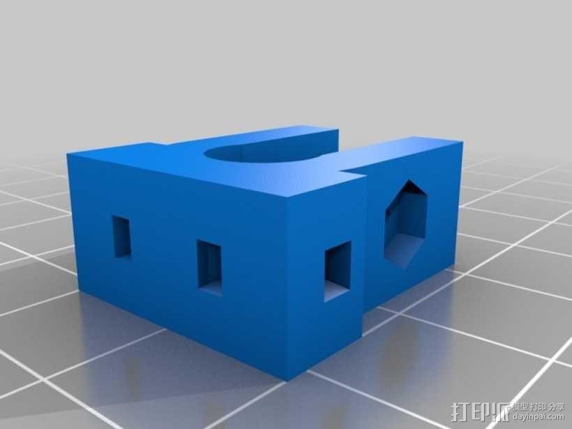 Radus Prusa i2适配器 3D模型  图26