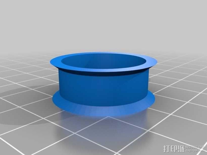 Radus Prusa i2适配器 3D模型  图29