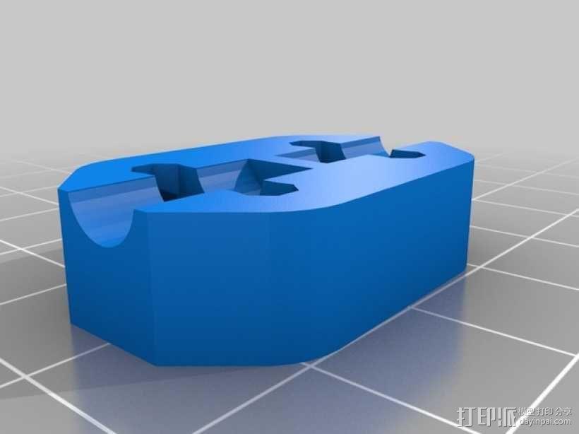 Radus Prusa i2适配器 3D模型  图33
