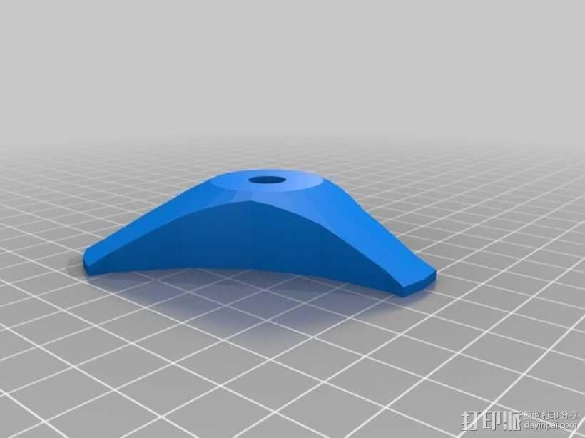 多用支架 3D模型  图1