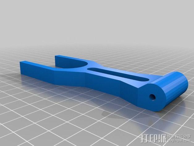 可折叠线轴 3D模型  图3
